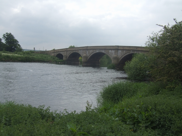 Swarkestone Bridge over the River Trent