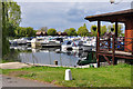 TL2167 : Buckden Marina - Offord Cluny by Mick Lobb