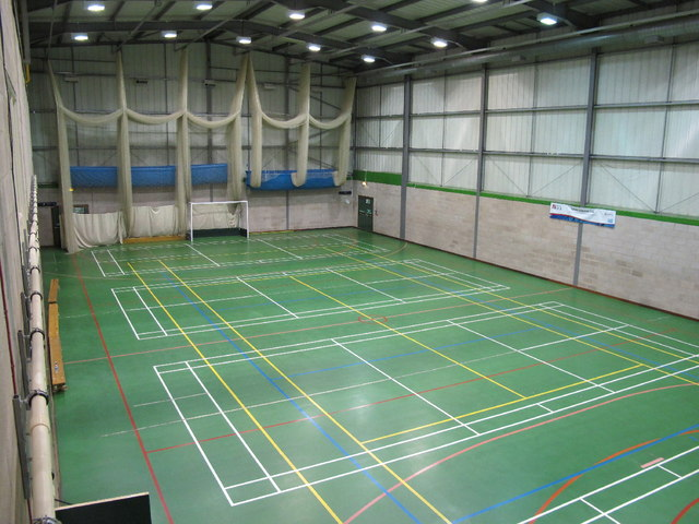 Sports Hall At Epsom College 169 David Hawgood Geograph