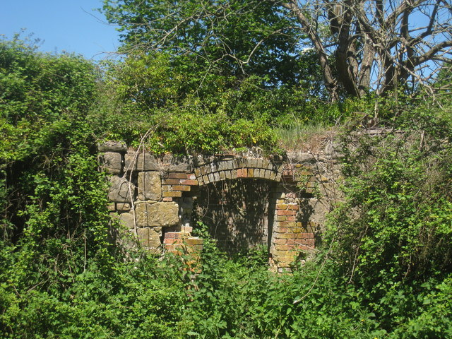Kiln Entrance of Oast House at Attwater Farm