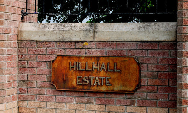 Hillhall estate sign, Lisburn