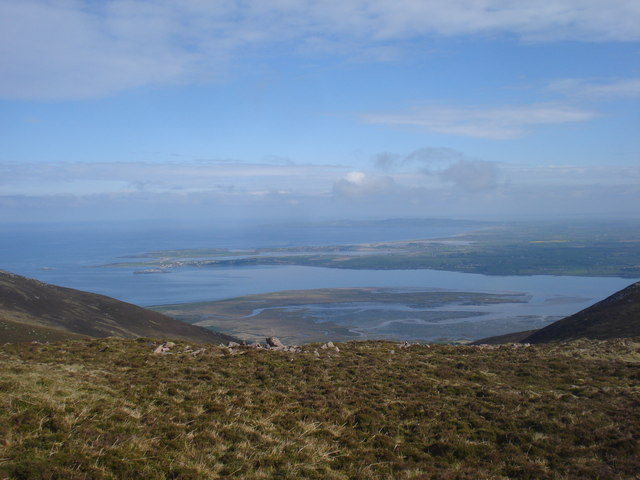 Derrymore strand and Fenit  beyond