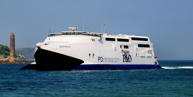 The P&amp;O &quot;Express&quot; at Larne