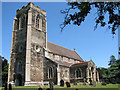TF6528 : St Peter's church in Wolferton by Evelyn Simak