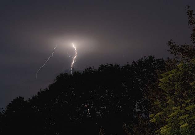 Lightning over Heyford