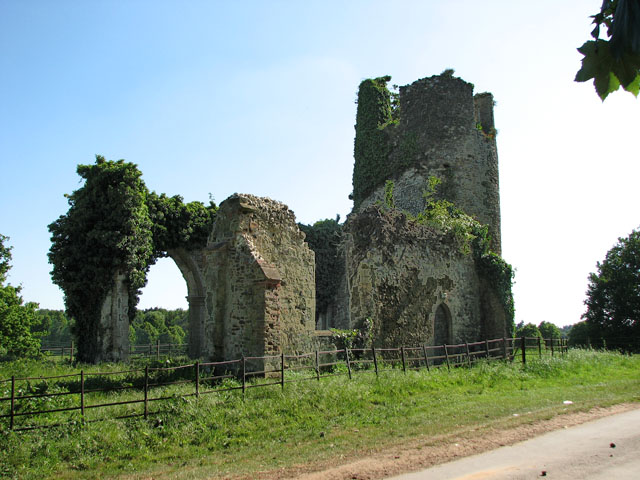 The ruined church of St Mary, Appleton