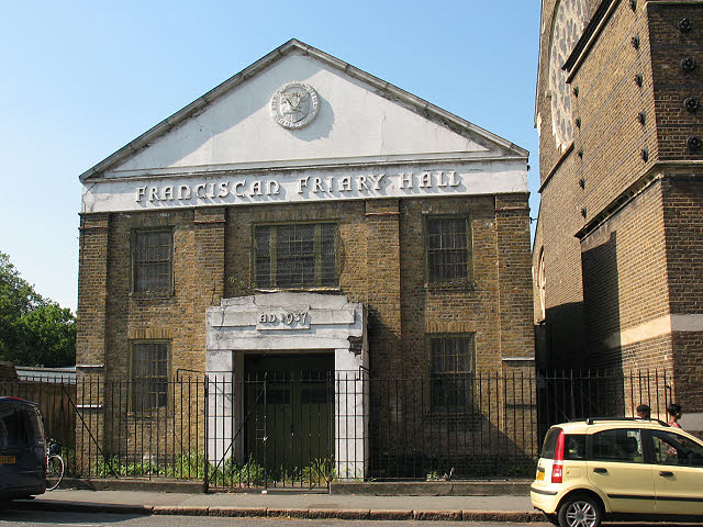 Franciscan Friary Hall, Peckham