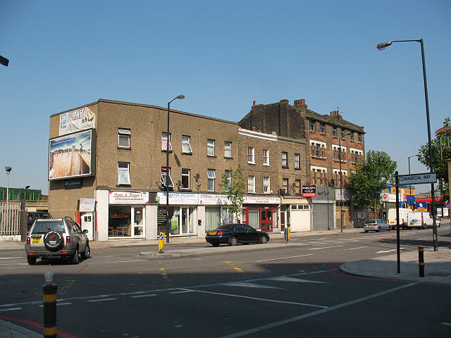 Shops on the Old Kent Road