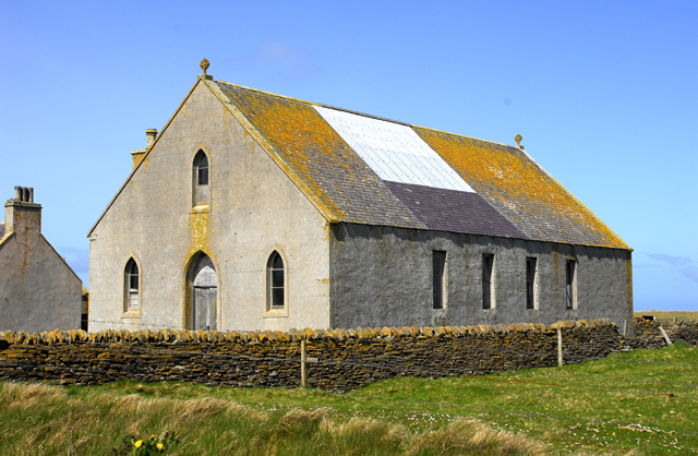 Disused Sanday church