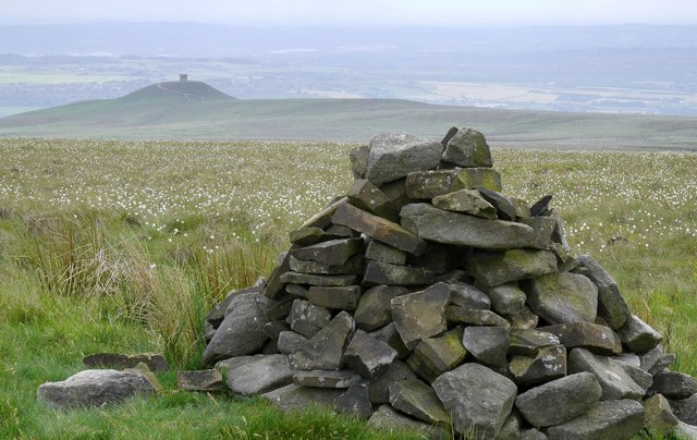 Cairn on Winter Hill