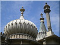 TQ3104 : Varied roof ornamentation, Royal Pavilion, Pavilion Gardens, Brighton : Week 23