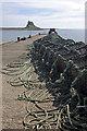NU1341 : Holy Island Harbour : Week 22
