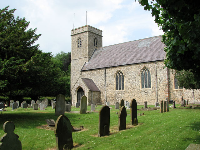All Saints' church in Great Melton