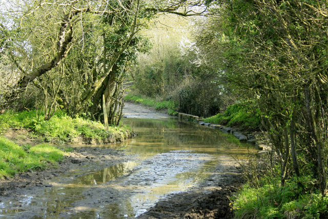 2010 : Washpool Lane crossing the River Boyd