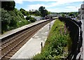 SW7042 : Looking downline, Redruth Station by Tom Jolliffe
