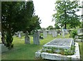 TQ4469 : St. Nicholas' Church, Chislehurst - churchyard (1) by Basher Eyre
