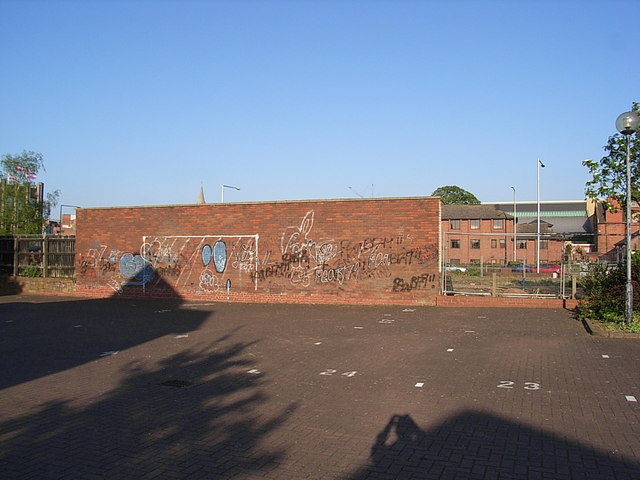 Bloxam Court car park, Corporation Street, Rugby