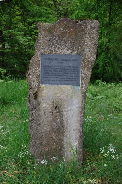 Millennium gravestone, Chapel le Dale
