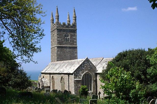 Morwenstow Church Tony Atkin Geograph Britain And Ireland