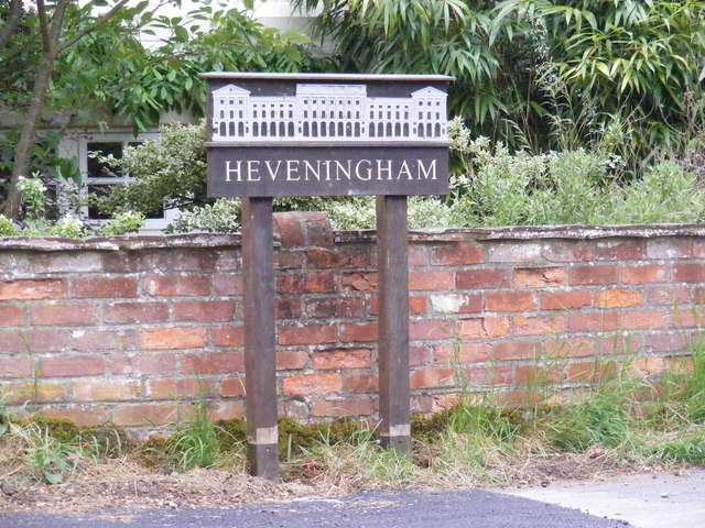 Heveningham Village Sign
