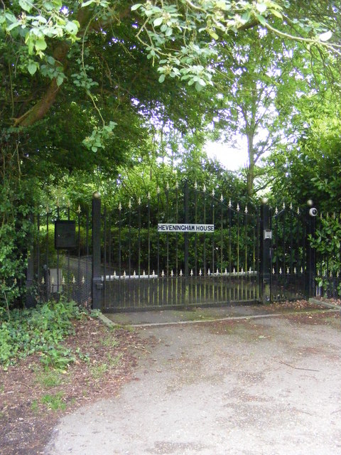 Heveningham House Gates