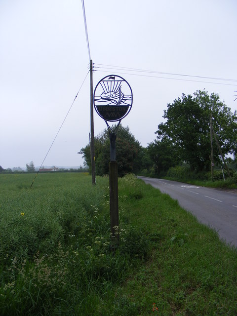 Ubbeston Village Sign