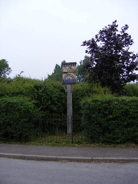 Cratfield Village Sign