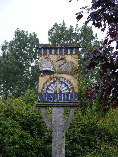 Cratfield Village Sign