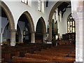 TM3877 : Interior of St.Marys Church, Halesworth by Adrian Cable
