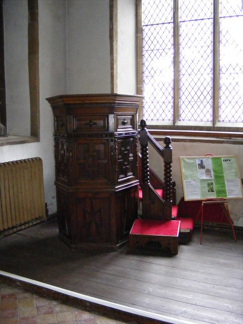 Pulpit of St.Marys Church, Halesworth