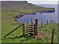 NG1544 : Stile on Ramasaig Cliff : Week 23