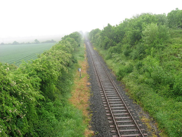 Railway at Longford, Duleek, Co. Meath