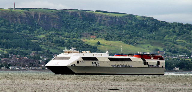"The ""Stena Voyager"", Belfast Lough"