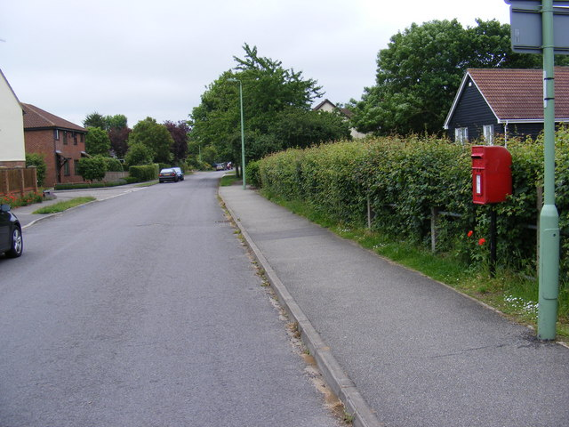 Brook Lane & Brook Lane Postbox