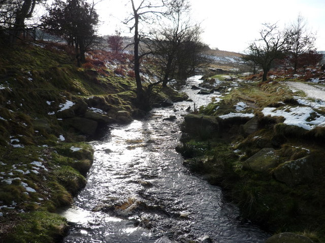 Fox House Derbyshire Stream Near Fox House Inn
