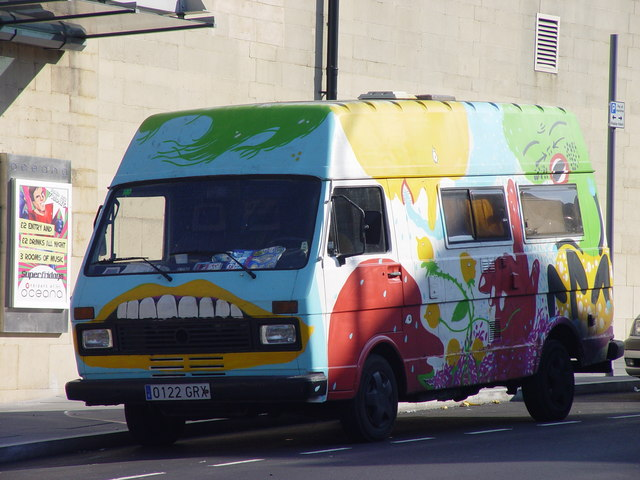 'Fierce' Camper Van