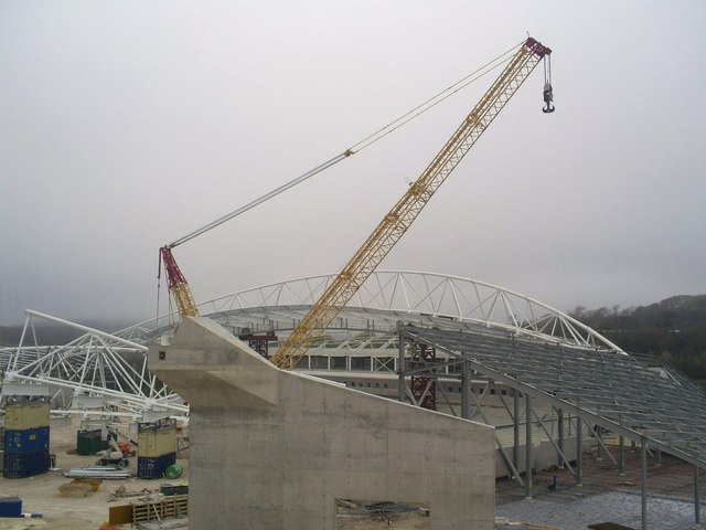 Football Stadium under construction