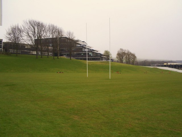 Rugby pitch , University of Brighton, Falmer
