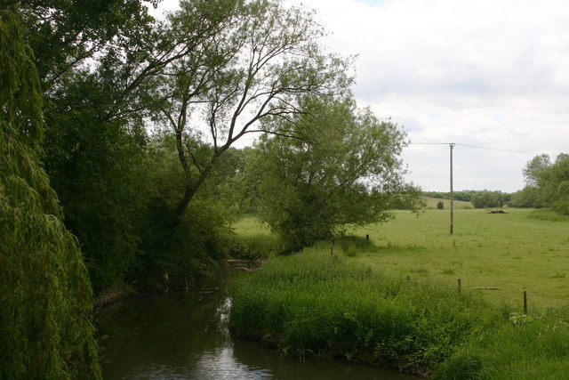 River Thame at Waterstock