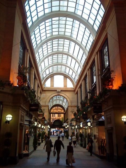 Exchange Arcade, Nottingham