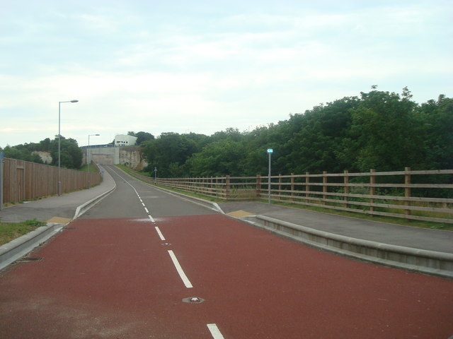 Disused road, Greenhithe
