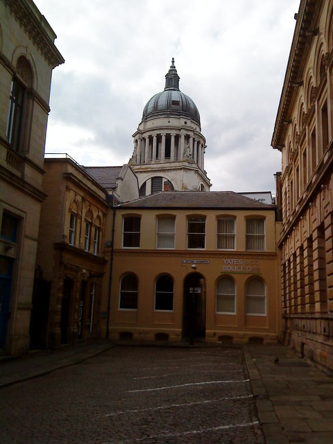 Bank Place, St. Peter's Gate, Nottingham
