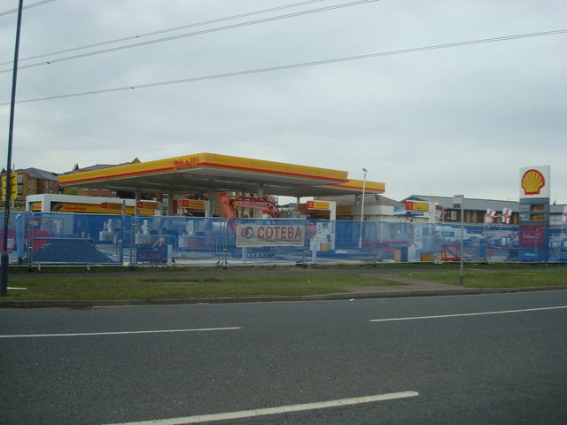Petrol station, Northfleet