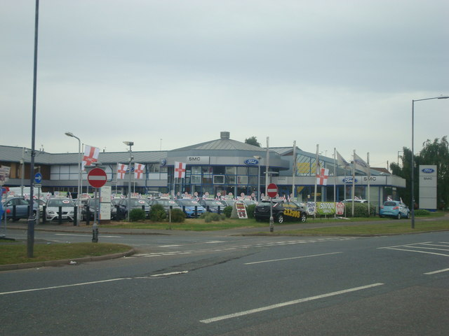 SMC Ford car dealership, Northfleet