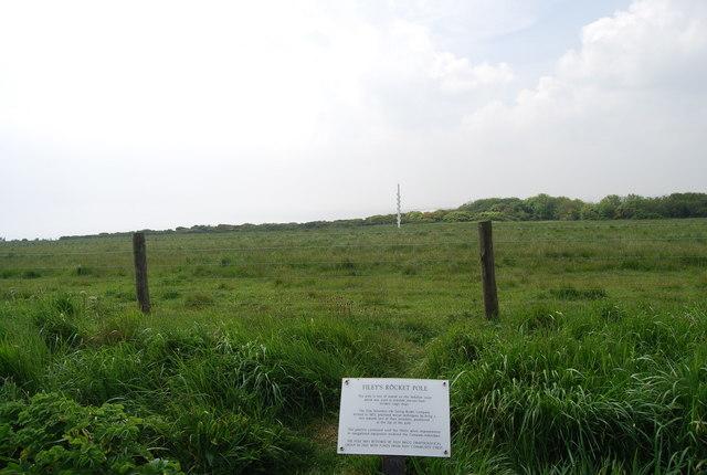 Filey's Rocket Pole