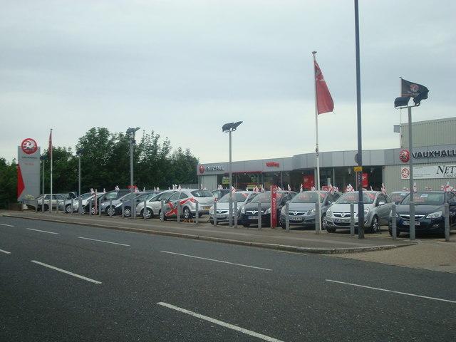 WJ King car dealership, Gravesend