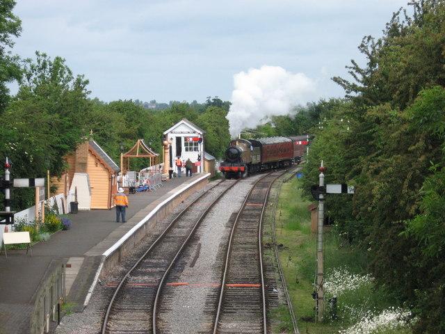 Blunsdon station, Swindon & Cricklade Railway