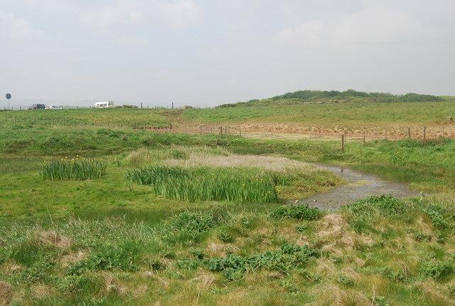 Pond, Filey Brigg