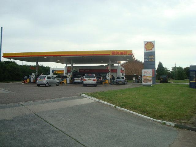 Petrol station, Gravesend
