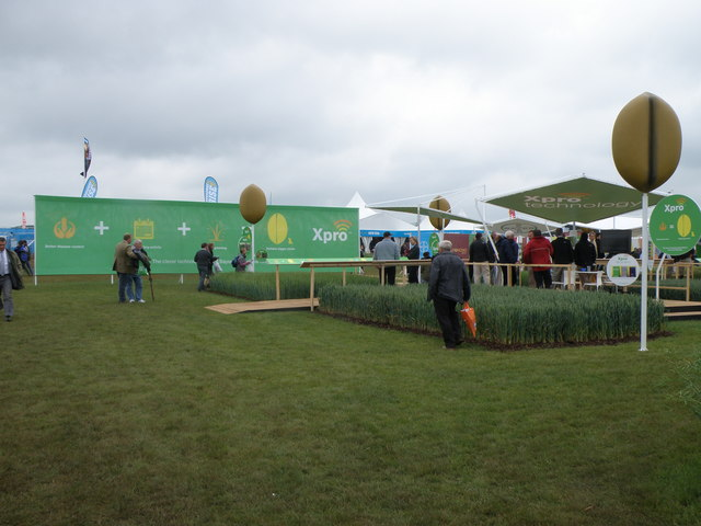 Bayer Crop Science display at the 2010 Cereals event